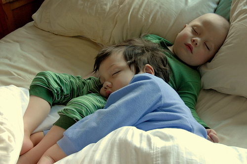 Sleeping kids, boosting immune system