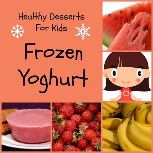 healthy-desserts-for-kids frozen yoghurt